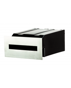 Masonry Insert Letterbox - Stainless Steel Faceplate