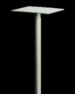 Letterbox Pole - Silver