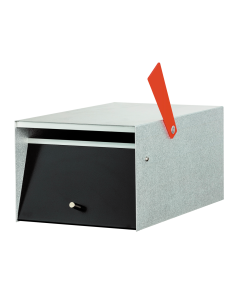 Rural Letterbox - Zincalume (Front View)
