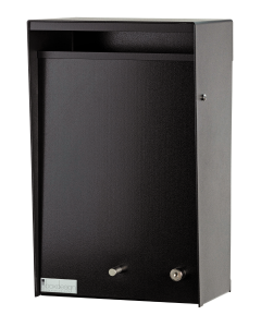 Wall Mounted Letterbox - Black